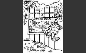 original tybee island coloring book u0027 hit locals