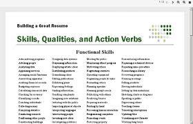 verbs for resume resume badak