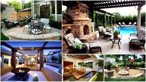 Design Your Backyard by 16 Extraordinary Beautiful And Relaxing Patio Designs For Your