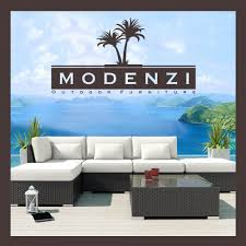 Modern Patio Furniture Cheap by Modenzi Offwhite 6l Modern Outdoor Wicker Sofa Patio Furniture Set