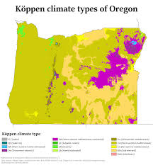 Map Of Astoria Oregon climate of oregon wikipedia