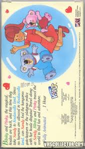 adventures of the little koala noozles adventures in koalawalla land vhscollector com your