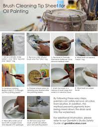 oil painting guide for schools white paper