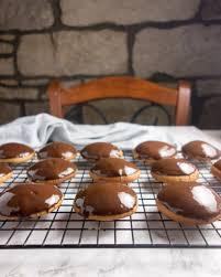 dark chocolate lebkuchen a dash of ginger