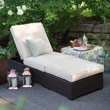 wicker patio furniture hampton bay outdoor chaise lounges and