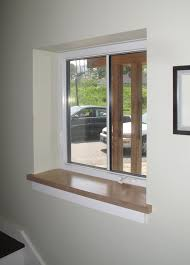 Kitchen Window Sill Decorating Ideas by Drywall Return At Jambs And Header With Wood Sill By Kaplan
