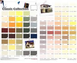 100 exterior paint shade card two color painting idea