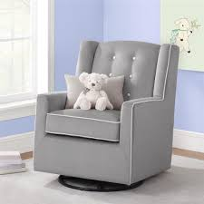 Tufted Swivel Chair Dorel Living Baby Relax Emmett Button Tufted Swivel Glider