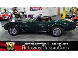 1968 chevrolet corvette for sale 1968 chevrolet corvette for sale on classiccars com 72 available