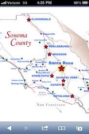 sonoma california map map of sonoma sebastopol freestone valley ford bodega