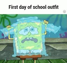 spongebob tear sweater day of gif tears sad discover