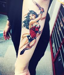 wonder woman tattoo cool ink pinterest inspiração
