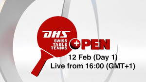 Dhs Table Tennis by Dhs Swiss Table Tennis Open Lausanne Day 1 Youtube