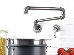 industrial style kitchen faucet sink faucet wall mount pot filler kitchen faucet impressive