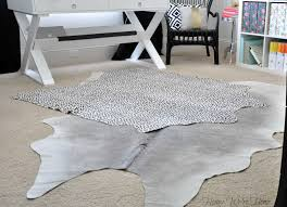 spotted cowhide rug roselawnlutheran