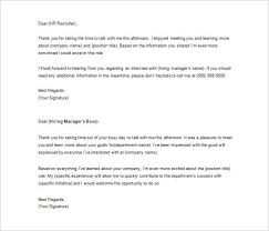 Rejection Letter Recruitment Agency thank you letter to recruiter 10 free sle exle format