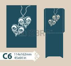 wedding wishes envelope laser cut template envelope wedding card invitation royalty free