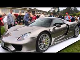 2013 porsche 918 spyder price 2015 porsche 918 spyder officially revealed at monterey pebble