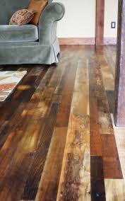 Rustic Looking Laminate Flooring Distressed Wood Flooring For Beautiful Natural Look Floor