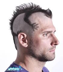 haircut style trends for 2015 funky mens mohawk haircut style men hairstyle trend funny crazy