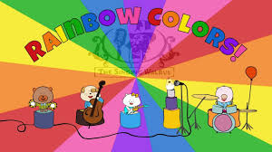 rainbow colors song colors song for kids the singing walrus