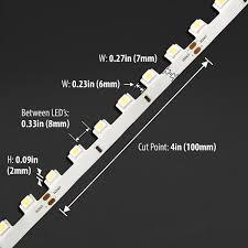 white 3d 5050 72w led strip light