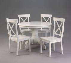 Glass Round Kitchen Table by White Round Kitchen Table And Chairs Iron Wood
