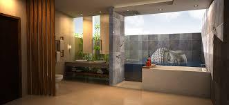 Mahameru Villa Bali By Leroy Hasim At Coroflotcom - Balinese bathroom design