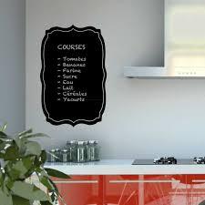 sticker ardoise baroque pour cuisine en vente sur sticker s studio