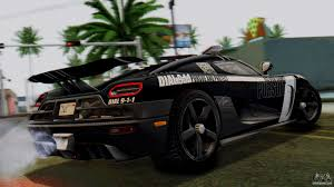 koenigsegg car from need for speed nfs rivals koenigsegg agera r enforcer for gta san andreas