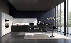 cuisine blanc et noir cuisine blanc bois trendy cuisine moderne bois blanc with cuisine
