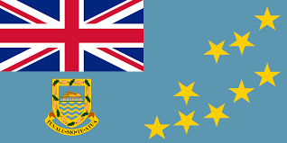 Blue Flag With Stars Flag Of Tuvalu Wikipedia