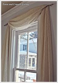 No Curtains One Dollar No Sew Curtains Town U0026 Country Living