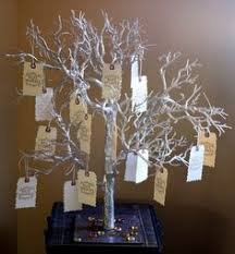 wedding wishing trees for sale guest book alternative gold wishing by krystlesweddings
