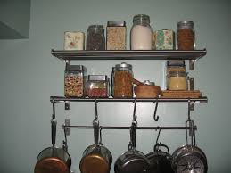 kitchen shelving ideas rustic diy wall shelves with white wall