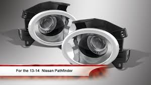13 14 nissan pathfinder halo projector fog lights with switch