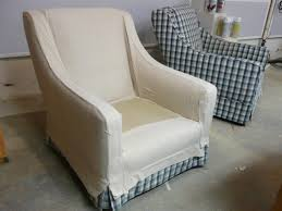 Overstuffed Chair Cover How To Make Arm Chair Slipcovers For Less Than 30 How Tos Diy