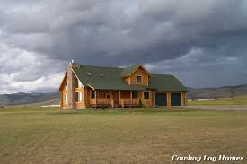 building cowboy log homes