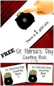 free saint patrick u0027s day counting books for preschool children