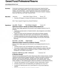 Resume Background Summary Examples by Cozy Ideas Resume Summary Examples 15 Resume Summary Examples For