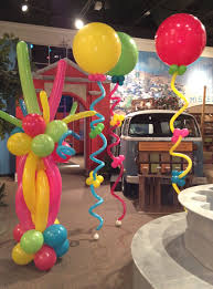 balloon columns balloonize your event houston balloon column