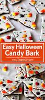 easy halloween bark teepee