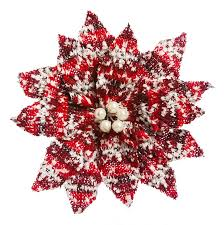 the aisle nordic poinsettia ornament with clip reviews