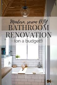 our diy budget bathroom renovation love u0026 renovations