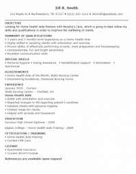 Sample Resume Of Health Care Aide by Resume For Home Health Aide 9 Resume Templates Home Health Aide