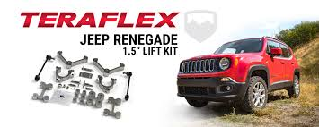 jeep renegade teraflex gives the jeep renegade bu an altitude adjustment
