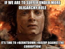 if we are to suffer under more oligarchy rule it s time to