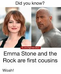 Dog Text By Memeemma Meme - did you know fbcomlegendaryfacts emma stone and the rock are