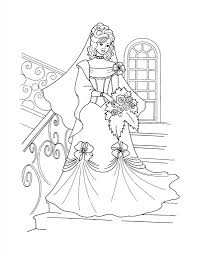 free printable disney princess coloring pages for kids in princess