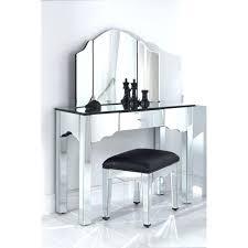 Folding Vanity Table Terrific Vanity Set With Mirror Enchanting Folding Vanity Table